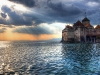 Chillon Castle, Lake of Geneve, Switzerland